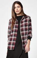 RVCA Jig 5 Plaid Flannel Button-Down Shirt