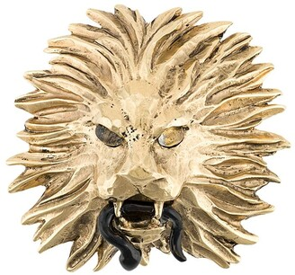 Goossens x Harumi Klossowska de Rola lion brooch