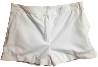 Chloé White Cotton Shorts for Women
