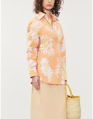 Jacquemus La Chemise Valensole floral-print cotton shirt