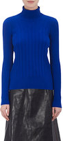 Maison Margiela Women's Wool-Blend Turtleneck Sweater-BLUE