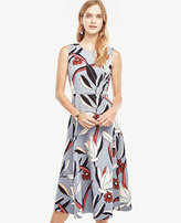Ann Taylor Water Lily Midi Dress