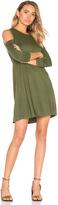 Michael Lauren Radford Open Shoulder Dress
