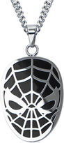 Spiderman FINE JEWELRY Marvel Mens Stainless Steel Pendant Necklace