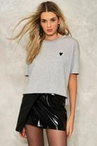 Nasty Gal Heidi Embroidered Tee