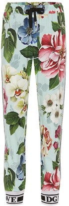 Dolce & Gabbana Floral trackpants