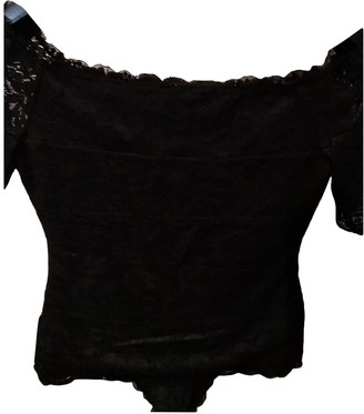 GUESS Black Lace Top for Women