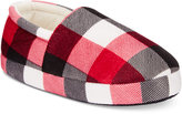 Family Pajamas Boys' or Girls' Buffalo Plaid Slippers, Only at Macy's
