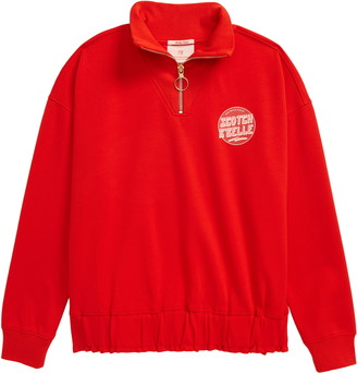 Scotch R'Belle Half-Zip Sweatshirt