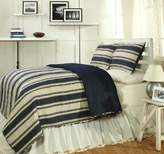 Be-you-tiful Home Cannon Quilt 3-Piece Set, King, Blue