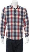 Rag & Bone Check Print Shirt