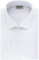 Kenneth Cole Reaction Men's Techni-Cole Slim-Fit Flex Collar Stretch Ocean Mist Print Broadcloth Dress Shirt