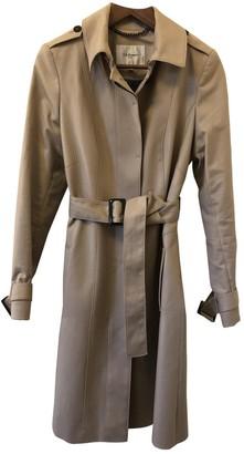 LK Bennett Beige Cotton Coat for Women
