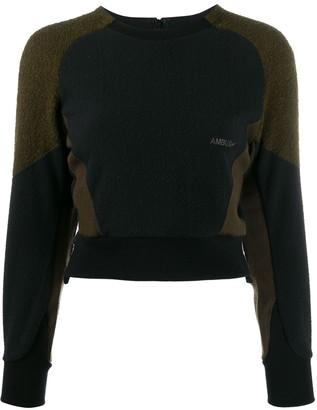 Ambush Fleece Panel Sweatshirt