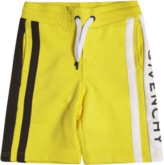 Givenchy Side Logo Drawstring Shorts