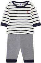 Petit Bateau T-shirt and printed leggings