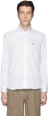 Etro White Button-Down Shirt