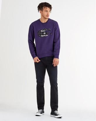 7 For All Mankind Total Twill Adrien Slim Tapered With Clean Pocket in Deep Sea