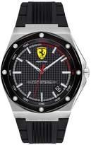 Scuderia Ferrari Ferrari Scuderia Aspire Men's Black Silicone Strap Watch