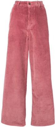 Ami Large Leg Fit Trousers