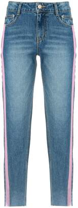 Sjyp side stripe jeans