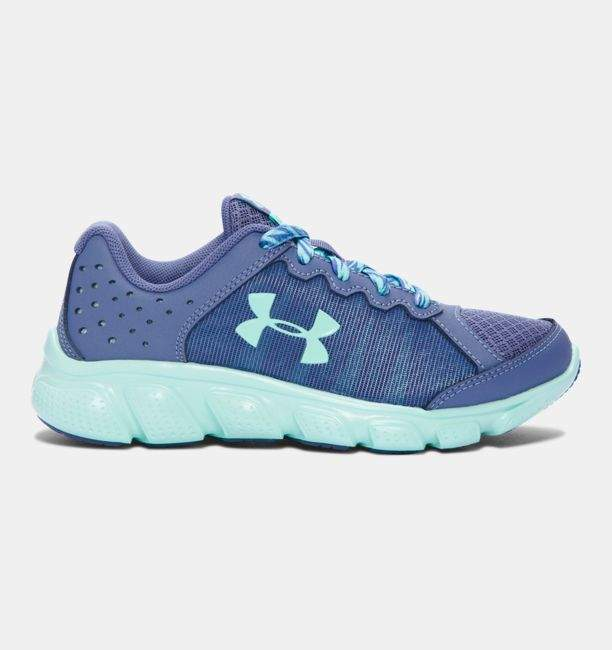 Under Armour Girls' Pre-School UA Assert 6 Running Shoes