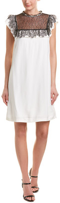 Pinko Lace Shift Dress