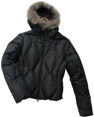 Salomon Black Synthetic Leather jackets