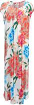 Mara Hoffman Women's Arcadia Dashiki Dress White/Pink