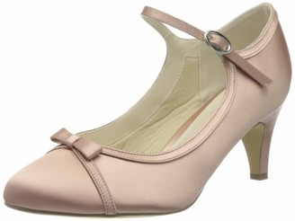 Paradox London Pink Women's April Low Heel Mary Jane Shoes