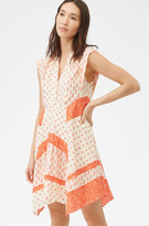 Rebecca Taylor Block Print Mix Dress
