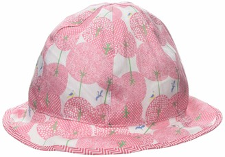 maximo Baby Girls' Flapper Reversible Sun Hat