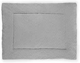 Camilla And Marc Jollein 017 513 65078 Crawling Blanket 80 x 100 cm Diamond Knit, Grey