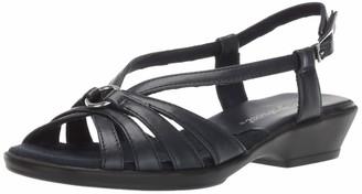 Easy Street Shoes Women's Amy Low Heeled Sandal