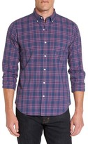 Bonobos Men's Slim Fit Washed Plaid Sport Shirt
