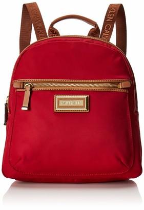 Calvin Klein Women's Belfast Nylon Key Item Backpack Shoulder Handbag