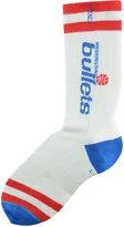 Stance Washington Bullets Team Color Striped Socks