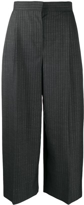 Alexander McQueen Tailored Pinstripe Culottes