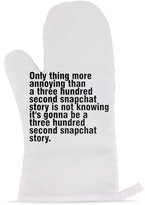Fotomax Mitten with Only thing more annoying than a three hundred second snapchat story is not knowing it's gonna be a three hundred second snapchat story