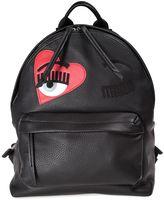 Chiara Ferragni Flirting Heart Faux-leather Backpack