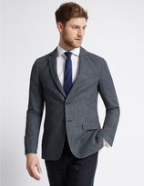 Marks and Spencer Textured 2 Button Jacket