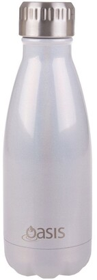Oasis Lustre Stainless Steel Double Wall Insulated Drink Bottle 350ml -