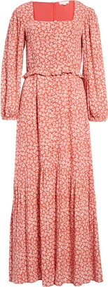 Lost + Wander Madison Long Sleeve Maxi Dress