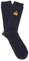 Folk Single Socks Deep Navy