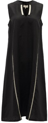ZEUS + DIONE Tinos Linen Dress - Womens - Black