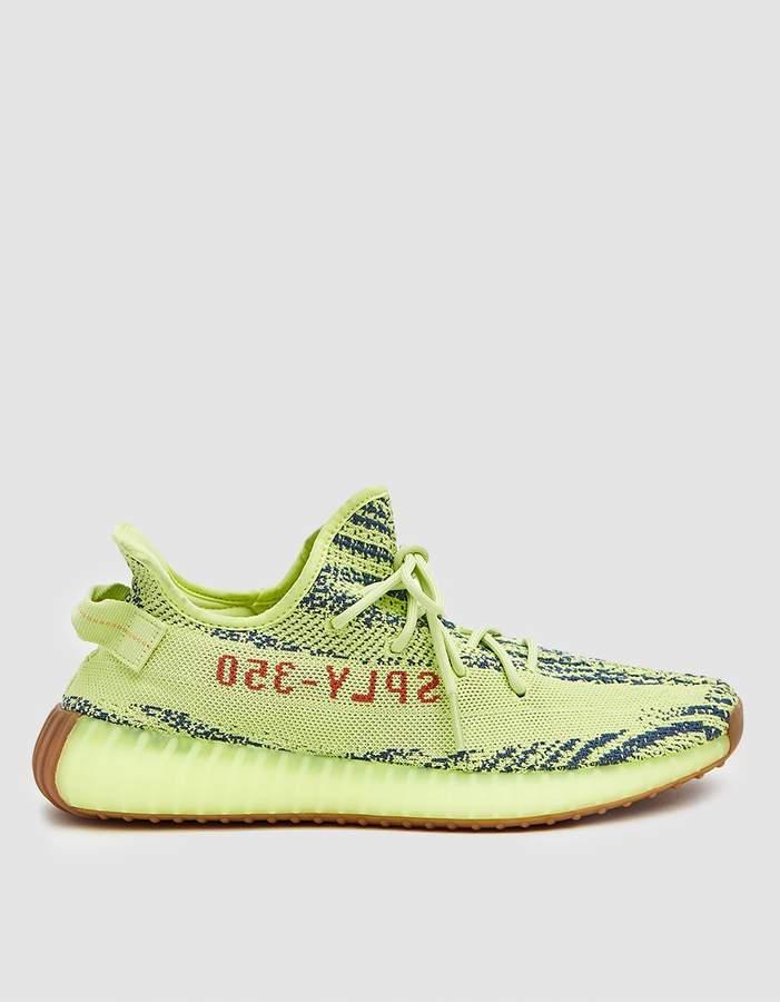 adidas YEEZY Boost 350 V2 Sneaker in Semi Frozen Yellow