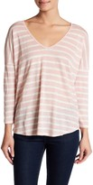 Velvet by Graham & Spencer Jacee Linen Striped Tee