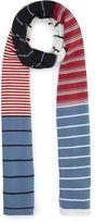 Sonia Rykiel Multi Stripe Wool Scarf