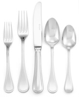 Couzon Flatware 18/10, Le Perle 5-Piece Place Setting