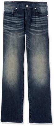 True Religion Men's Tall Size Devin Loose Straight Leg Jean